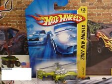 HOT WHEELS 2007 FE #13 -180-1 SKY KNIFE LIME NMC AMER