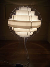 Danish Brylle.Jacobsen Designer Acrylic Side/Table Lamp