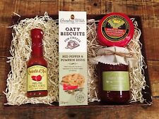 Chili cheese & chutney gift set - Homemade. Lovely food hamper