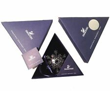 Swarovski ROCKEFELLER 2004 Christmas Star / Snowflake, Mint, both boxes & papers