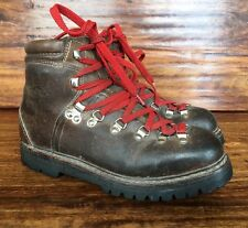 Vintage Lowa Mountaineering Hiking Boots Mens 5 Women's 6.5, 7 Made In Germany