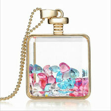 Of The Rose Gold Fashion Crystal Pendant Pendant In a Bottle Women's Party Gift