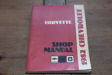 1982 Corvette Chevrolet ST36482 Chevy GM Shop Service Manual