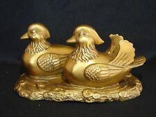 Feng Shui Brass Mandarin Ducks
