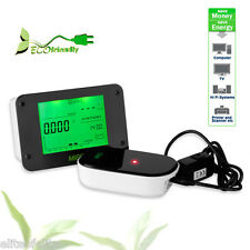 Wireless Electricity Monitor Power Meter Home Electric Smart Energy Monitor US