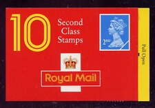Gb 1991 10 x 2nd class stamps barcode brochure HC7