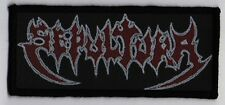 SEPULTURA PATCH / SPEED-THRASH-BLACK-DEATH METAL