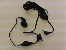 2.5mm Male Jack Earphones with Microphone & Clip for Panasonic Cordless Phone