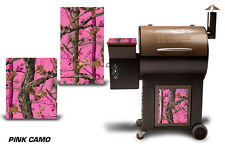 Traeger Smoker Grill Graphic Kit Decal Wrap Skin For CostCo Century Model PINK