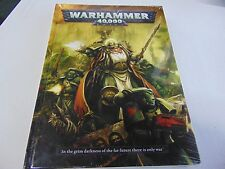 WARHAMMER 40,000 40K HARDBOUND RULEBOOK SHRINWRAPPED GAMES WORKSHOP  GM58