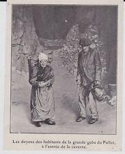 1904  --  LES DOYENS DES HABITANTS DE LA GRANDE GOBE DU POLLET    3J175