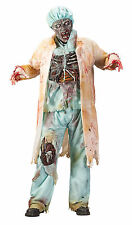 HALLOWEEN ZOMBIE DOCTOR COSTUME  PROP DECORATION HAUNTED HOUSE