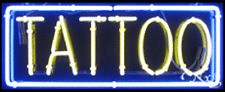 "NEW ""TATTOO"" 32x13 BORDER REAL NEON SIGN w/CUSTOM OPTIONS 10159"