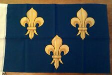 DRAPEAU FRANCAIS flag bandiera roi royal france Ile de France