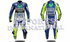 Valentino Rossi Motorbike Racing Leather Suit 2015 For Mens & Womens All Size