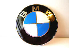 BMW Blue/White Emblem Roundel 82mm Front Hood/ Rear Trunk  51148132375 NEW