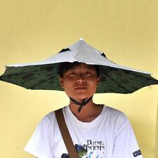 New Umbrella Hat Portable Outdoor Fishing Anti UV Parasol Foldable Rain Umbrella