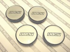 Fiat Coupe ALL MODELS  New Genuine Alloy Wheel Logo Center Caps Badge Set 50mm