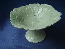 TILL & SONS - RARE ANTIQUE- ACANTHUS  LEAF COMPORT- C.1850-1861 - FOOTED -VGC
