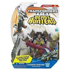 TRANSFORMERS PRIME BEAST HUNTERS STARSCREAM DELUXE MOSC MOC MISB SEALED NEW