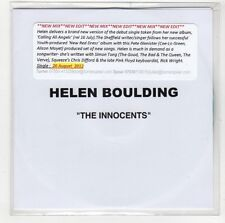 (GI613) Helen Boulding, The Innocents - 2012 DJ CD
