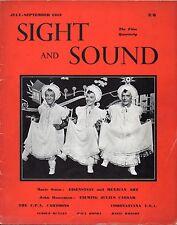 SS53-23-1 SIGHT AND SOUND 1953 Sergei Eisenstein ROBERT BRESSON UK MAGAZINE