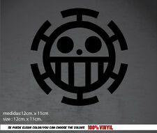 trafalgar law one piece pegatina sticker Aufkleber