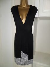 GORGEOUS UNLINED  DRESS BY HEINE IN VG CON SIZE UK 20 BUST 46-48""