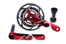 MOWA Five Mountain XC AM FR Bike Triple Cycling Crankset 44/32/22t 175mm Red