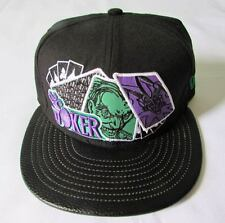 NEW ERA CAP HAT 9FIFTY THE JOKER CARDS BATMAN ARKHAM CITY DC COMICS STRAPBACK