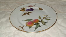 C4 Porcelain Royal Worcester Evesham Plate 26cm 3D2A Some gold edging fading