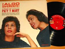 PROMO POP MEXICAN LP - PATY and MARY - COLUMBIA 5040 -