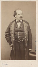 Photo cdv : E.Carjat ; Pierre Michot , Acteur dramatique Français,  vers 1863