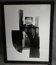 Louise Nevelson façade Series Vintage Modern 1966 Graphic Art Homage Sitwell