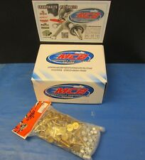 "WOODY'S 96 PACK TRACTION MASTER GOLD DIGGER STUDS - 1.325"" W 1/2 TALL LARGE NUTS"