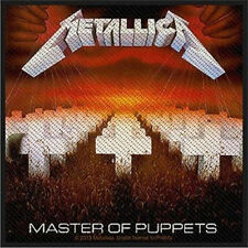 Metallica - Master of Puppets Patch 10cm x 9.5cm