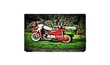 1962 Puch Cheetah Bike Motorcycle A4 Photo Poster