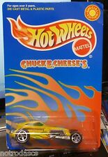HTF SPECIAL EDITION ~ CHUCK E CHEESE'S 2001 HOT WHEELS ~ SWEET 16 CAR w/ 5 SPKs