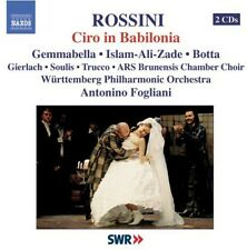 Antonino Fogliani, G. Rossini - Ciro in Babilonia [New CD]