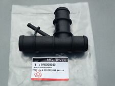 GENUINE MG ZT ROVER 75 1.8 RADIATOR TOP HOSE PFK000040 WITH PRESSURE RELEASE PRT