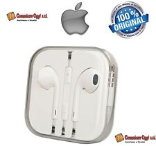 Cuffie Auricolari EarPods Originali per Apple iPhone 4,4S 5 5S 5C Bulk MD827ZM/A