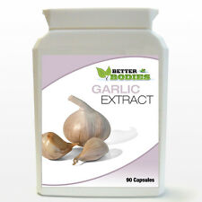 Garlic Extract 1400mg Odourless 90 Capsules Per Bottle