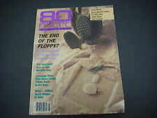 80 Micro Magazine For Tandy Users,January 1987,Floppy,Mass Storage,Language Wars