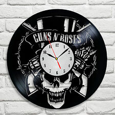 Guns N' Roses Band design vinyl record clock home decor art hobby shop office 2