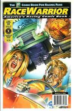RACE WARRIOR #2, 3/2000, rare US comic book for race car fans, NM 9.6