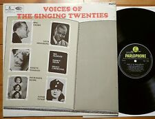 V.A. Voices of the Singing Twenties UK Parlophone PCM 7006 mono Yellow /  black
