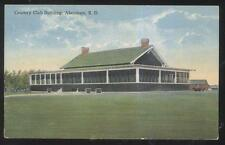POSTCARD ABERDEEN SD/SOUTH DAKOTA GOLF COURSE COUNTRY CLUB HOUSE 1910'S