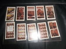 THE BEATLES - PLEASE PLEASE ME WARUS TRADING CARDS  FULL SET OF TEN LTD. EDITION