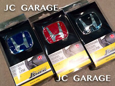 J'S RACING B RED BLUE BLACK STEERING EMBLEM BADGE ACCORD CIVIC JAZZ CRV VEZEL