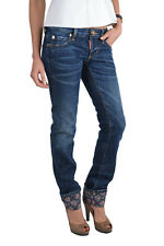 "Dsquared ""Slim Jean"" Blue Skinny Jeans US 0 IT 36"